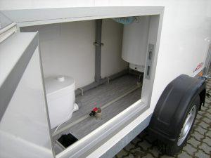Duschmobil Technik