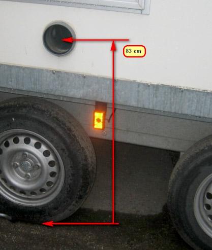 Eurowagon 41 Bodenabstand