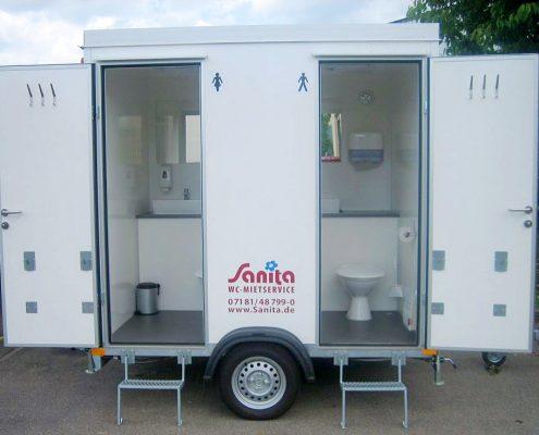 Sanita Toilettenwagen klein
