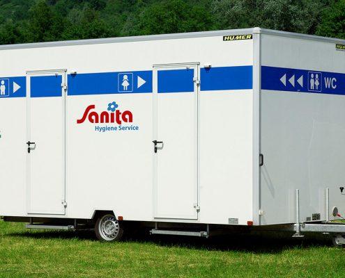 Toilettenwagen Sanita-Gamo