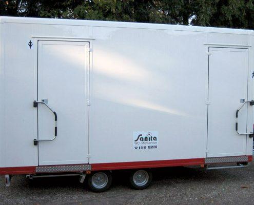 Toilettenwagen Sanita-Komfort Klein