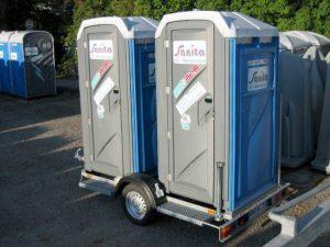 Toiletten-Anhänger 2er