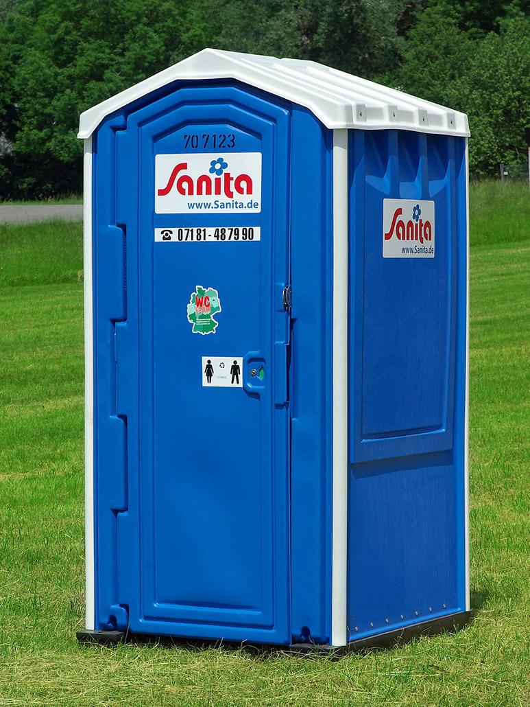 Sanita Toilettenkabine