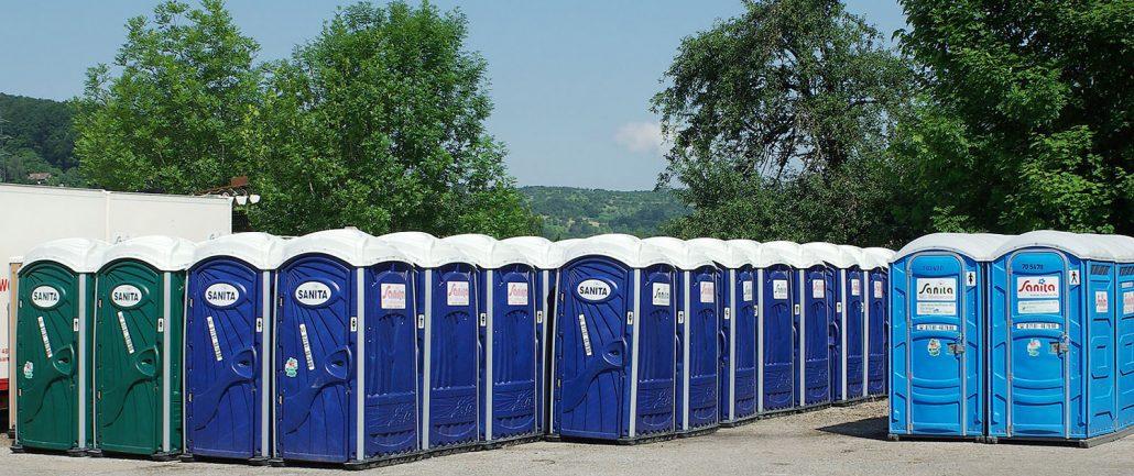 4500 Sanita Toilettenkabinen