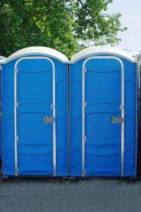 Verkauf von Toilettenkabinen